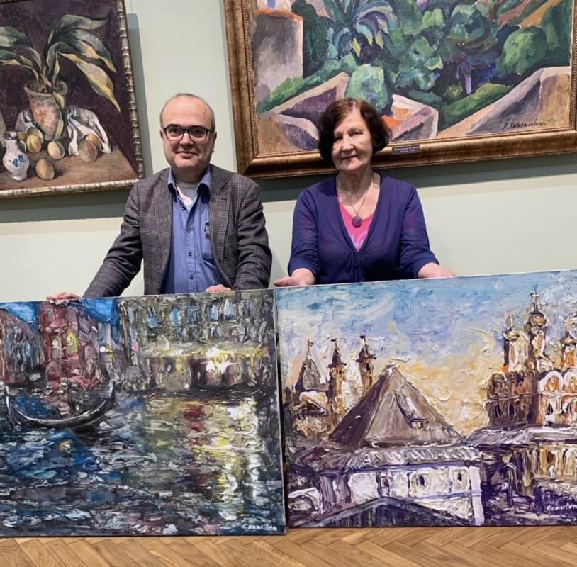 Картины наших художников - в коллекции Тульского Художественного Музея!