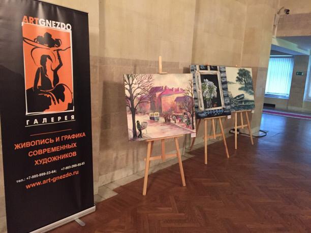 Еще две персональные выставки - Дмитрия и Никиты Павловых